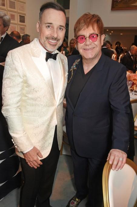 Elton John & David Furnish had a child via surrogate