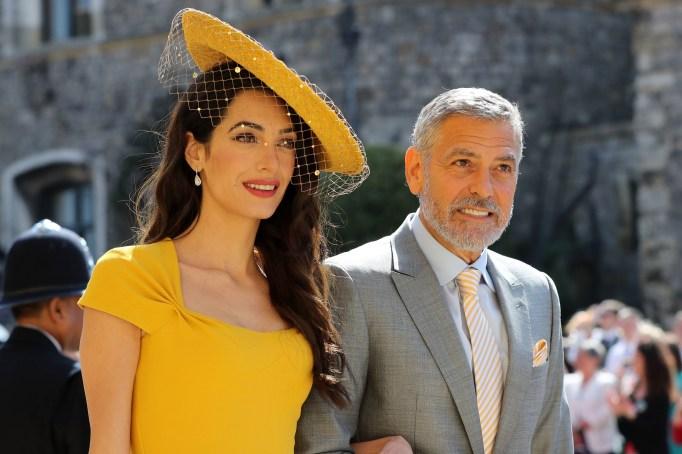 Amal & George Clooney royal wedding