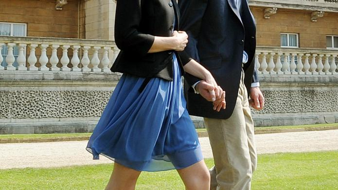 Kate's royal blue Zara dress