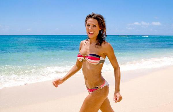 Get bikini-ready: 5 Minute exercises