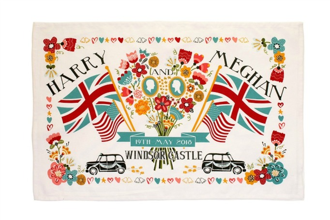 Royal Wedding Merchandise Tea Towel