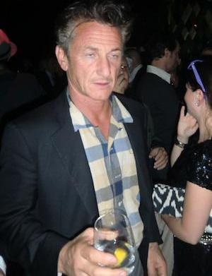 Sean Penn and Petra Nemcova secretly