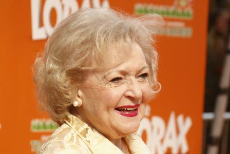 Betty White talks The Lorax, the