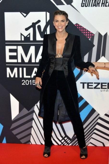 MTV EMAs red carpet