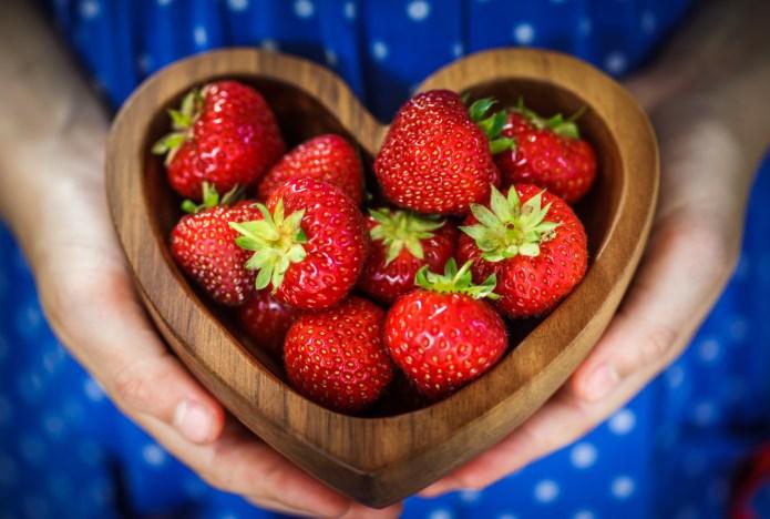 Eating fruits and veggies makes skin