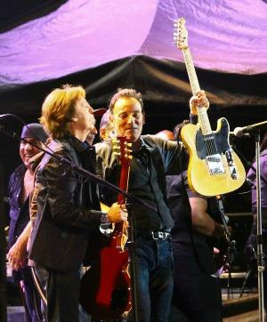 Bruce Springsteen and Paul McCartney are