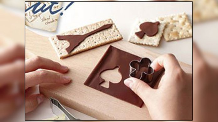 Sliced chocolate singles are the best
