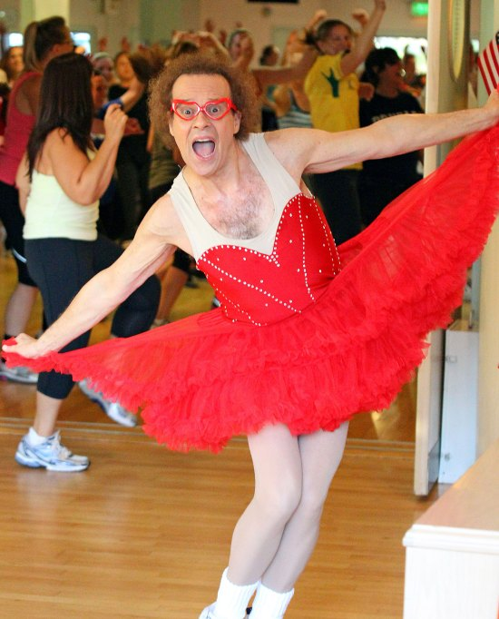 Richard Simmons Clothing