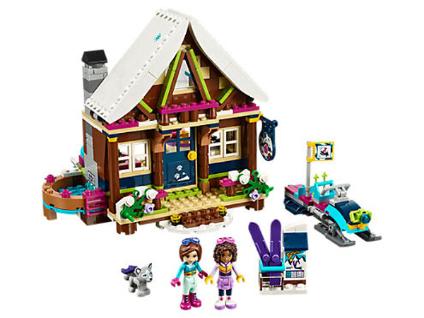 Holiday Gifts for Every Age: Lego Friends Snow Resort Chalet | 2017 Holiday Gift Guide