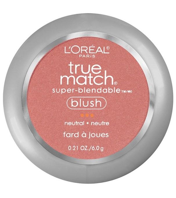 Best Drugstore Blushes Under $11: L'Oréal Paris True Match Super Blendable Blush in Sweet Ginger | Drugstore Makeup 2017