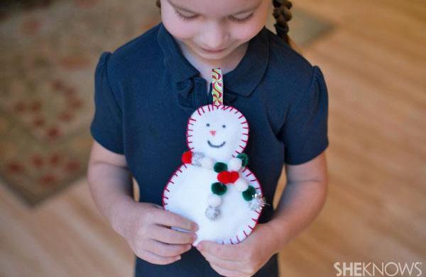 DIY Holiday sew-man