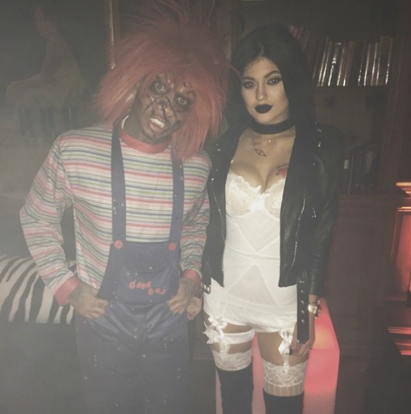 Kylie Jenner and Tyga Halloween costumes