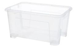 SAMLA clear box