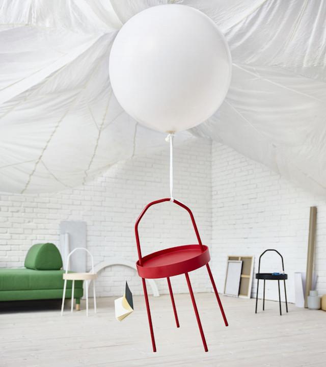 IKEA table with handle