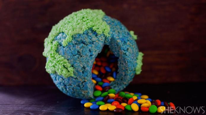 A candy-filled Rice Krispies Treat that's