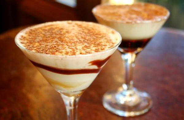 Dessert cocktails for the holidays