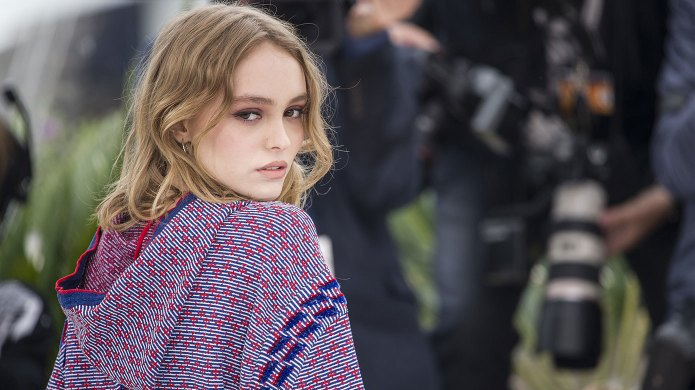 Lily-Rose Depp jumps to her father's