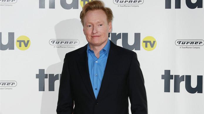 Madeleine Albright schools Conan O'Brien in