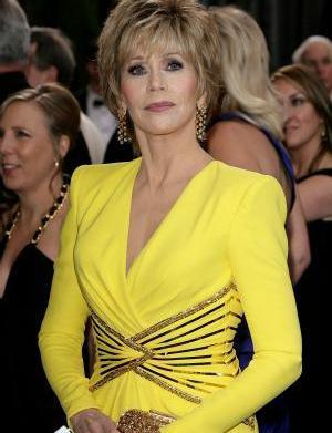 "Jane Fonda tells vets: ""Get a"