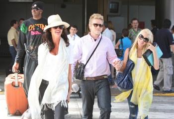 Heidi Montag, Spencer Pratt and Janice Dickenson head south