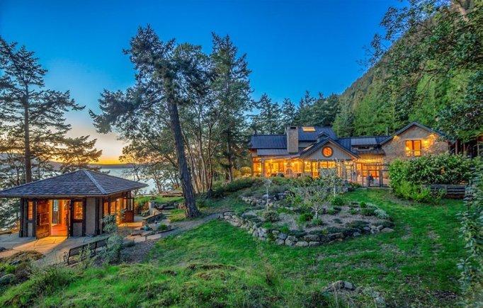 Oprah Winfrey's Orcas Island home