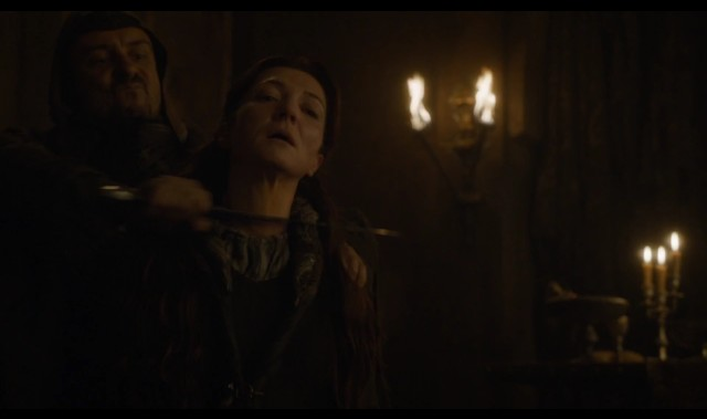 Catelyn Stark Death At Red Wedding