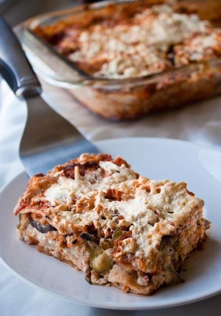 red wine lasagna