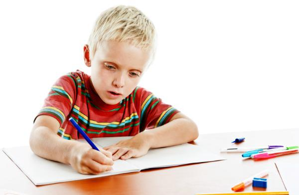Bad handwriting or sensory issues?