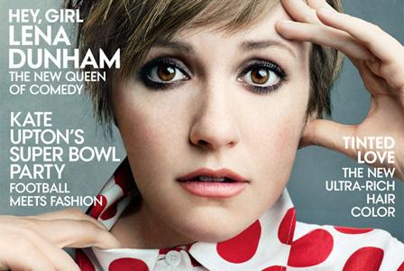 Lena Dunham's Vogue cover