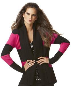 INC International Concepts Striped Shawl Collar Cardigan ($80, macys.com)