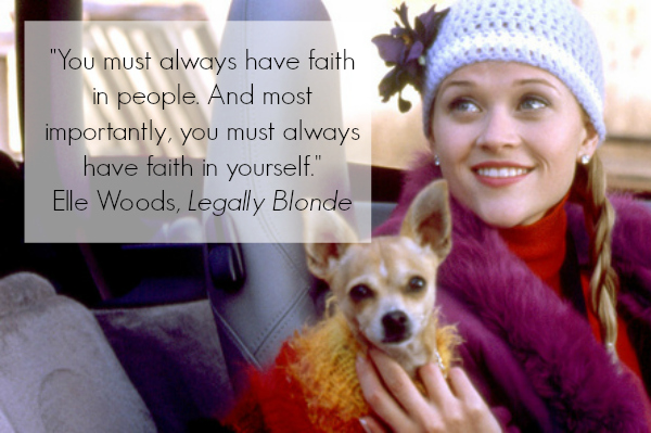 Legally Blonde Inspirational Quote
