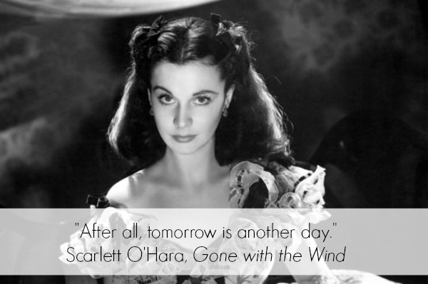Gone with the Wind Inspirational Quote