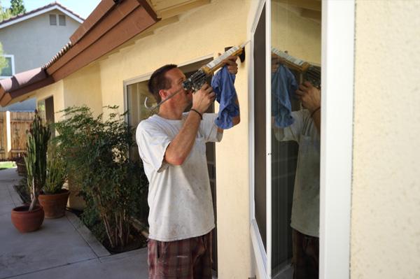 Installing energy efficent windows