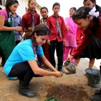 Selena Gomez Nepal UNICEF 1