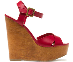 Anjali red wedges