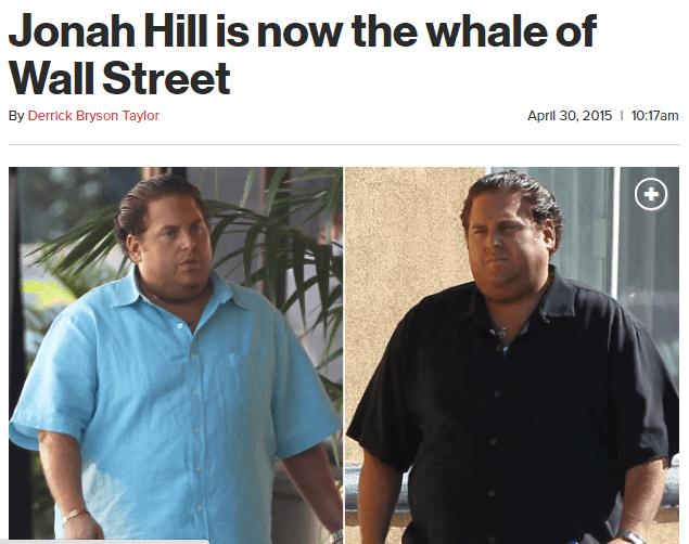13 times male celebs were fat-shamed