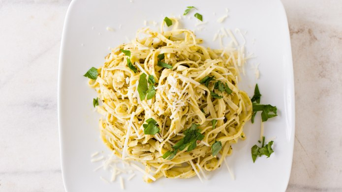 This Preserved Lemon Linguine Is the