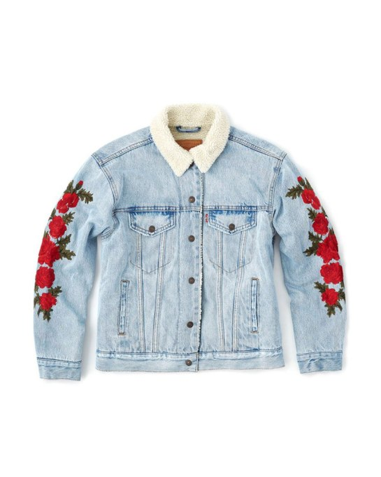 Cool Denim For Fall: Levi's Jacket | Fall Fashion 2017