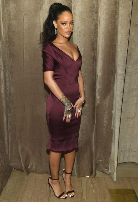 Rihanna at fashion week