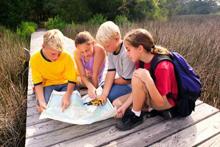 Geocaching homeschool lessons