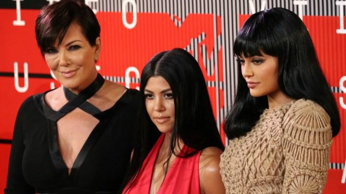 Kris Jenner, Kourtney Kardashian and Kylie Jenner