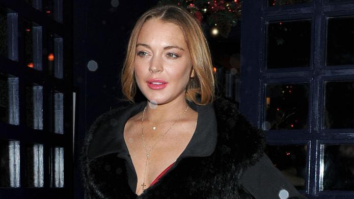 What Lindsay Lohan's #sorta Super Bowl