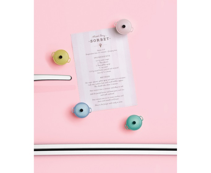 Sorbet Collection Magnets, Set of 4