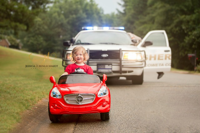 Paisley's first ticket photo shoot for National Police Week