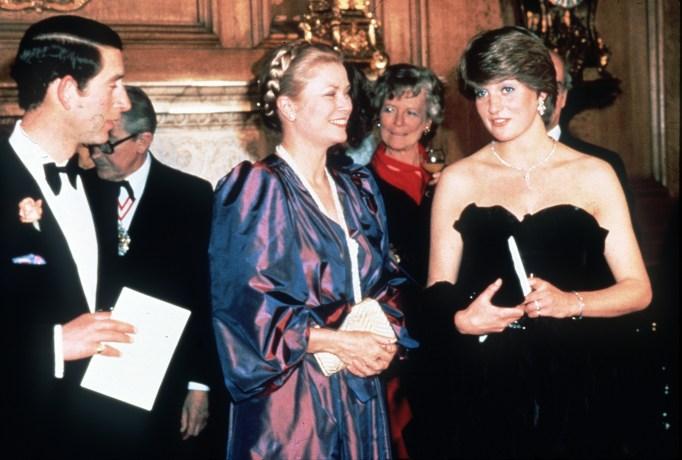 Iconic photos of Princess Diana: Diana and Princess Grace