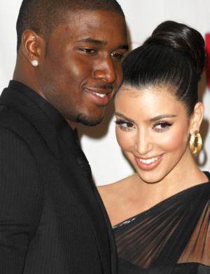 Reggie Bush, Kim Kardashian laugh through