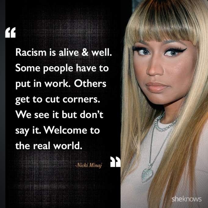 Nicki Minaj race quote