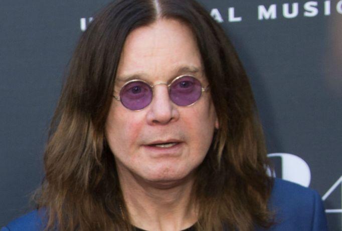 Ozzy Osbourne on red carpet