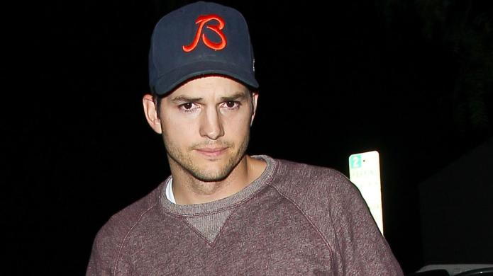Ashton Kutcher finally tells the world