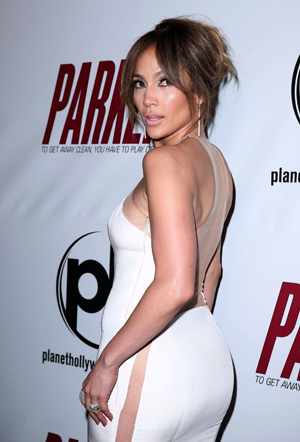 Jennifer Lopez's side butt